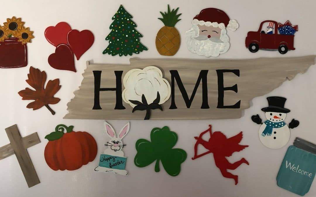 Sip and Paint Board Art- Home