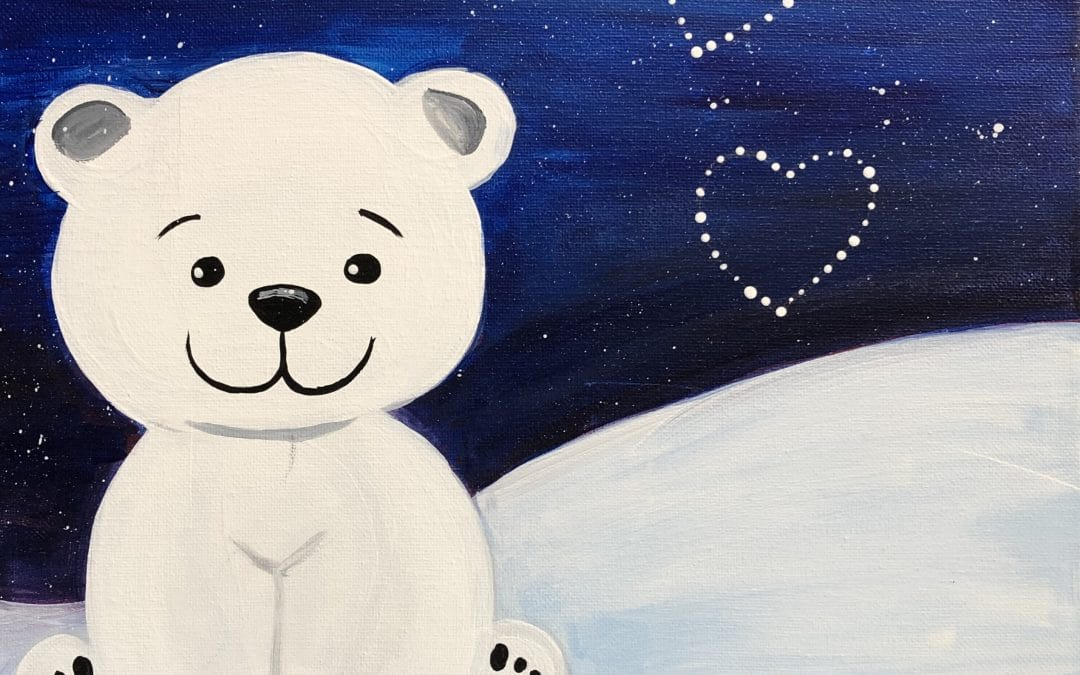 Kids Canvas Class – Lovey Bear